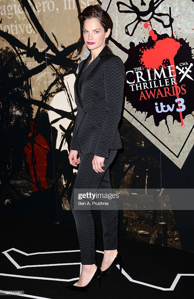 <a gi-track='captionPersonalityLinkClicked' href=/galleries/search?phrase=Ruth+Wilson&family=editorial&specificpeople=3111655 ng-click='$event.stopPropagation()'>Ruth Wilson</a> attends the Specsavers Crime Thriller Awards at The Grosvenor House Hotel on October 24, 2013 in London, England,