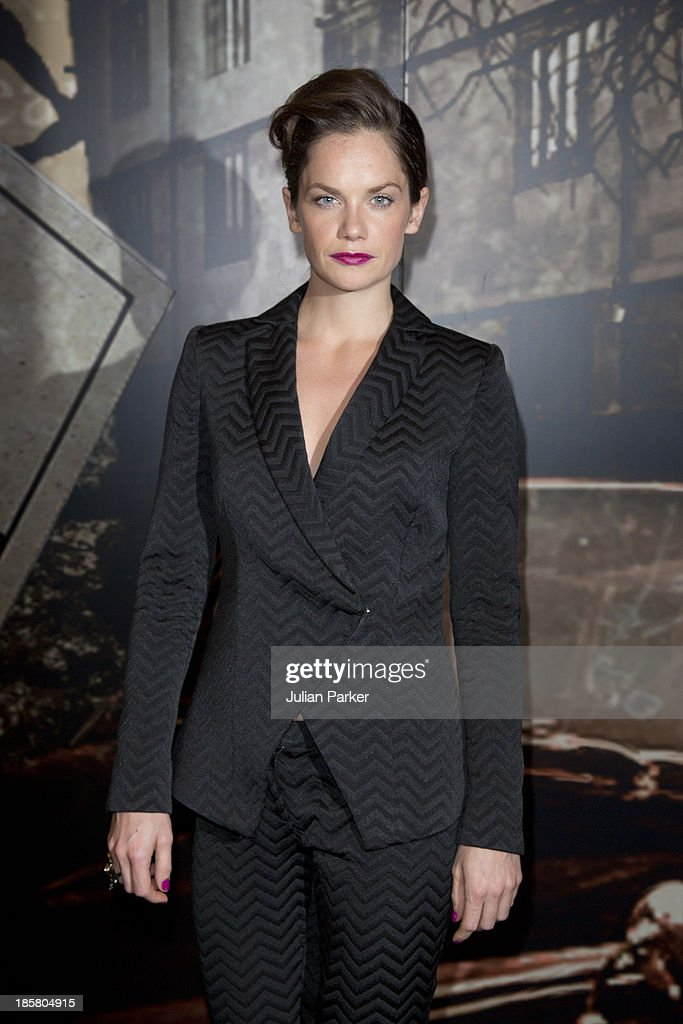 <a gi-track='captionPersonalityLinkClicked' href=/galleries/search?phrase=Ruth+Wilson&family=editorial&specificpeople=3111655 ng-click='$event.stopPropagation()'>Ruth Wilson</a> attends the Specsavers Crime Thriller Awards at The Grosvenor House Hotel on October 24, 2013 in London, England.