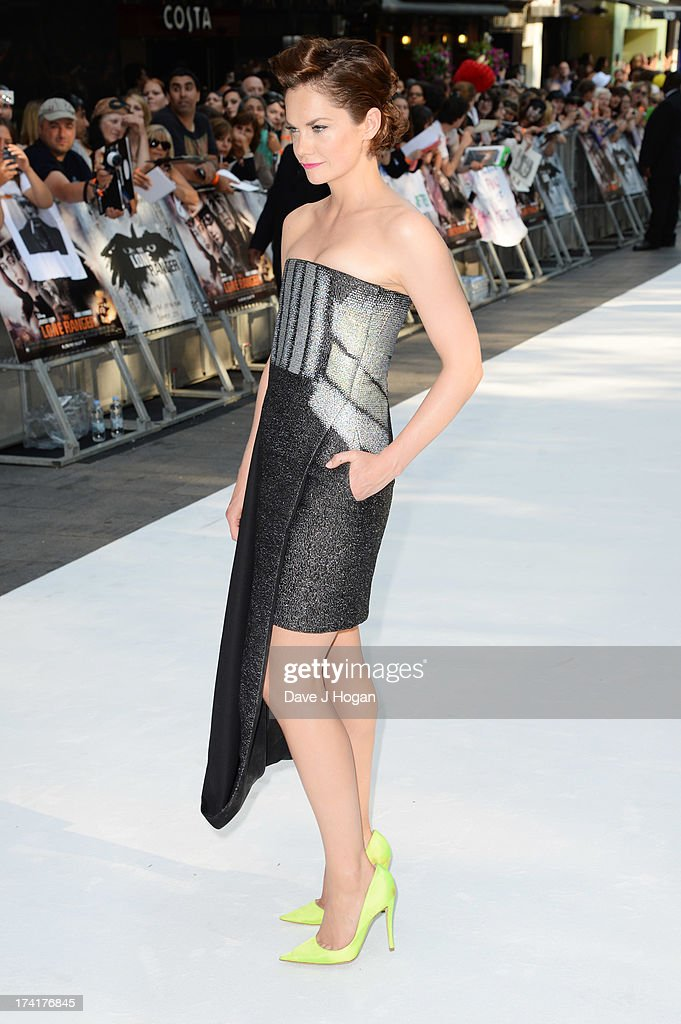 Ruth Wilson attends the UK premiere of 'The Lone Ranger' at The Odeon Leicester Square on July 21, 2013 in London, England.
