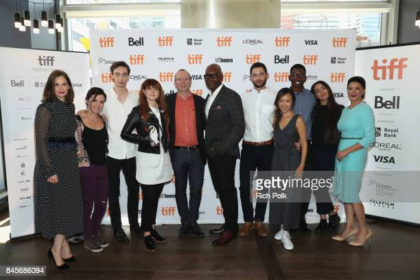 Ruth Wilson TIFF 17 Rising Stars Mary Galloway Theodore Pellerin Jessie Buckley Founder and CEO of IMDb Col Needham TIFF Artistic Director Cameron...