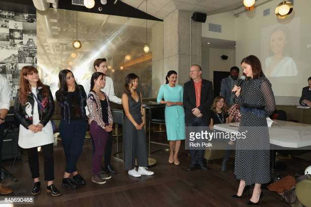 Ruth Wilson TIFF 17 Rising Stars Mary Galloway Theodore Pellerin Jessie Buckley Founder and CEO of IMDb Col Needham Ellen Wong Mamoudou Athie Lina El...