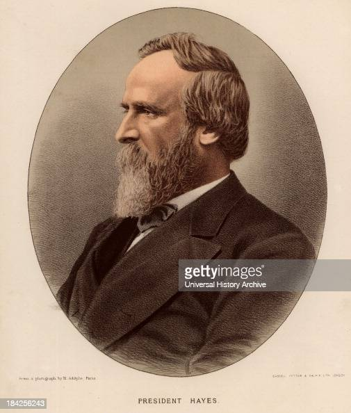 rutherford b hayes essay Twenty disputed electoral votes, however, kept hopes alive for republican  governor hayes of ohio a fifteen-member electoral commission was appointed  by.