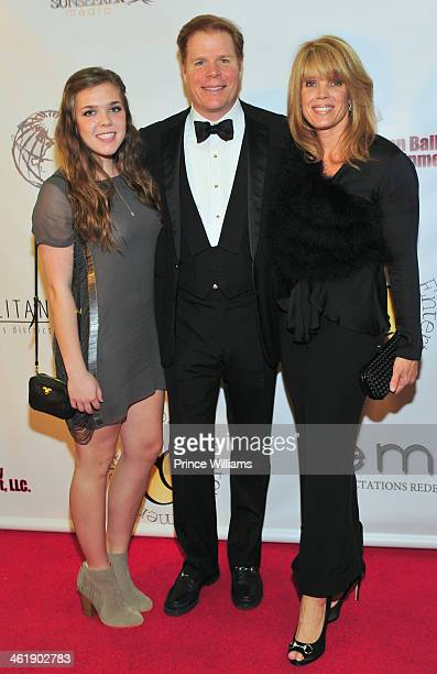 Rutherford Seydel Laura Turner Seydel and daughter attend the 2nd annual Georgia Entertainment gala at Georgia World Congress Center on January 11...