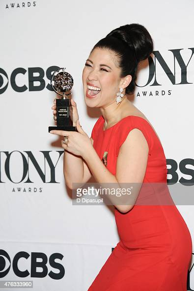 Ruthie Ann Miles poses in the press room during the American Theatre Wing's 69th Annual Tony Awards at Radio City Music Hall on June 7 2015 in New...