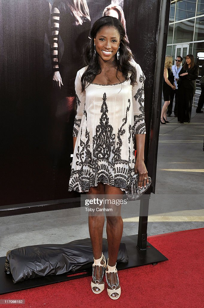 Rutina Wesley arrives for the premiere of HBO's 'True Blood' Season 4 held at the Arclight Cinerama Dome on June 21, 2011 in Los Angeles, California.