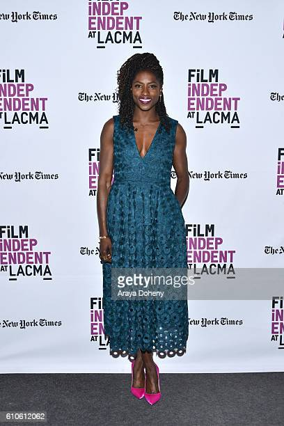 Rutina Wesley attends Film Independent at LACMA An Evening With Ava DuVernay and Oprah Winfrey at Bing Theatre At LACMA on September 26 2016 in Los...