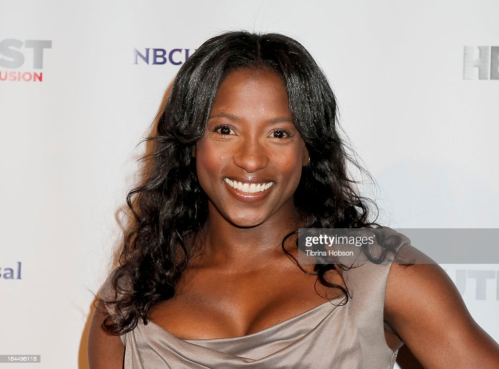 Rutina Wesley attends the OutFest Fusion LGBT People of Color Film Festival closing night at the Egyptian Theatre on March 23, 2013 in Hollywood, California.