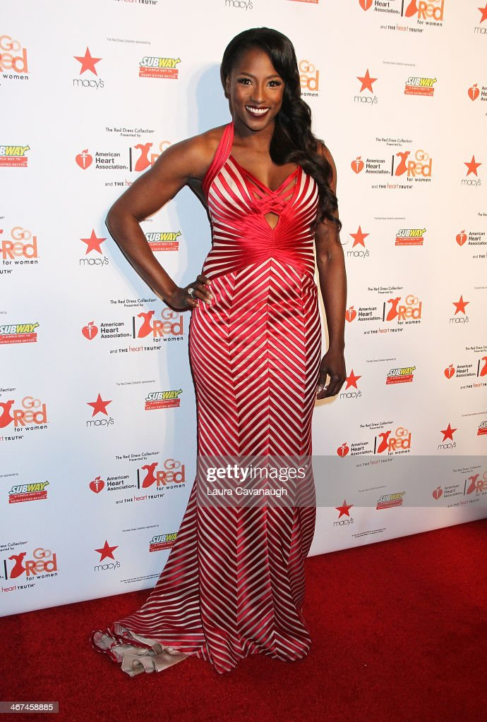 <a gi-track='captionPersonalityLinkClicked' href=/galleries/search?phrase=Rutina+Wesley&family=editorial&specificpeople=4052226 ng-click='$event.stopPropagation()'>Rutina Wesley</a> attends The Red Dress Fashion Show during Fall 2014 Mercedes - Benz Fashion week on February 6, 2014 in New York City.