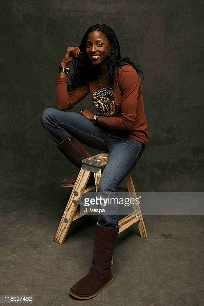 Rutina Wesley during 2007 Sundance Film Festival 'How She Move' Portraits at Delta Sky Lodge in Park City Utah United States