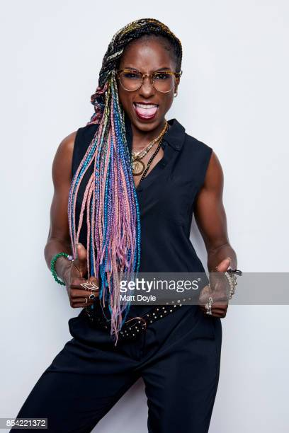 Rutina Wesley poses for a portraits at the Tribeca TV festival at Cinepolis Chelsea on September 24 2017