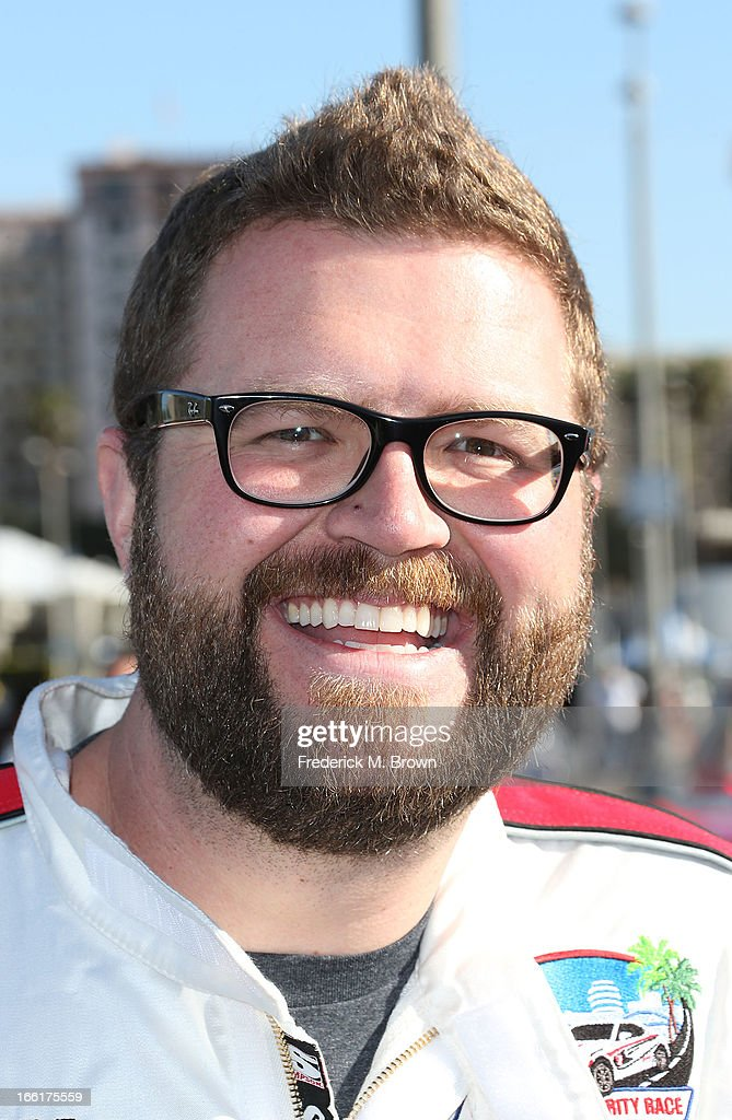 Rutledge Wood attends the 37th Annual Toyota Pro/Celebrity Race-Practice Day on April 9, 2013 in Long Beach, California.