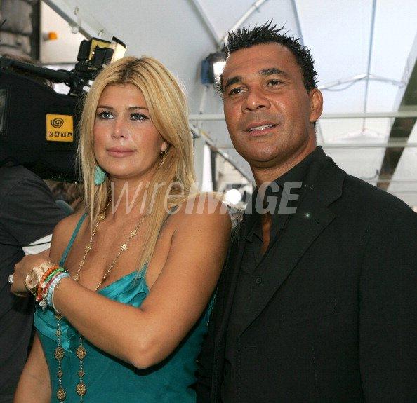Ruud Gullit and his wife Estelle Gullit during Shrek the