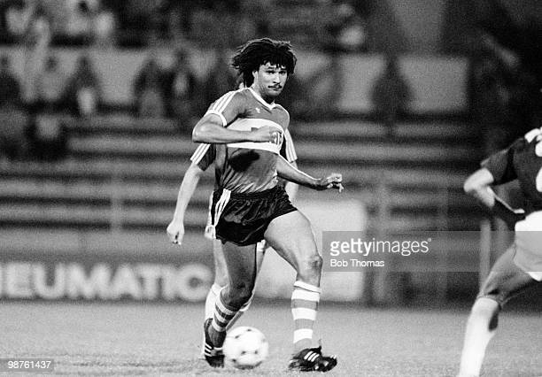 Ruud Gullit of PSV Eindhoven in action against Austria Memphis at a preseason tournament held at Philips Stadium in Eindhoven Netherlands on 10th...