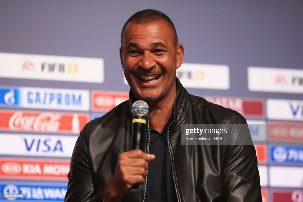 Ruud Gullit talks during day three of the FIFA Interactive World Cup 2017 Grand Final at Central Hall Westminster on August 18, 2017 in London, England.