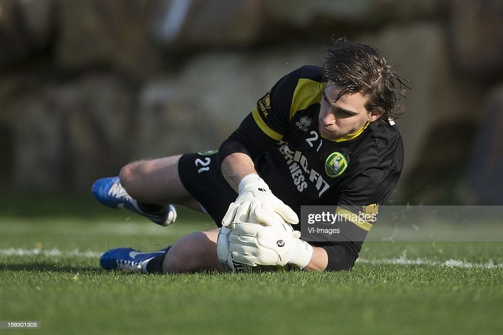 Ruud Swinkels of ADO Den Haag during the training camp of ADO Den Haag on January 11, 2013 at Estepona, Spain.