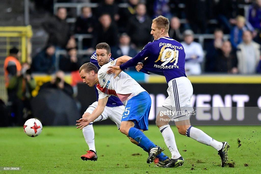 RSC Anderlecht v Club Brugge KV - Jupiler League