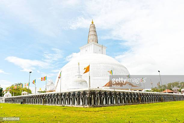 Ruvanvelisaya Dagoba in Anuradhapura
