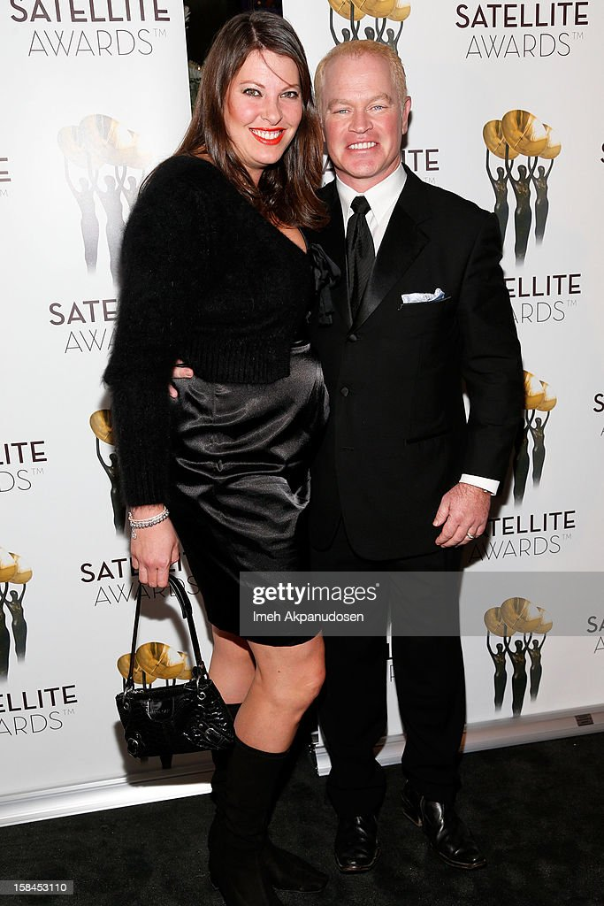 Ruve McDonough (L) and actor Neal McDonough attend International Press Academy's 17th Annual Satellite Awards at InterContinental Hotel on December 16, 2012 in Century City, California.