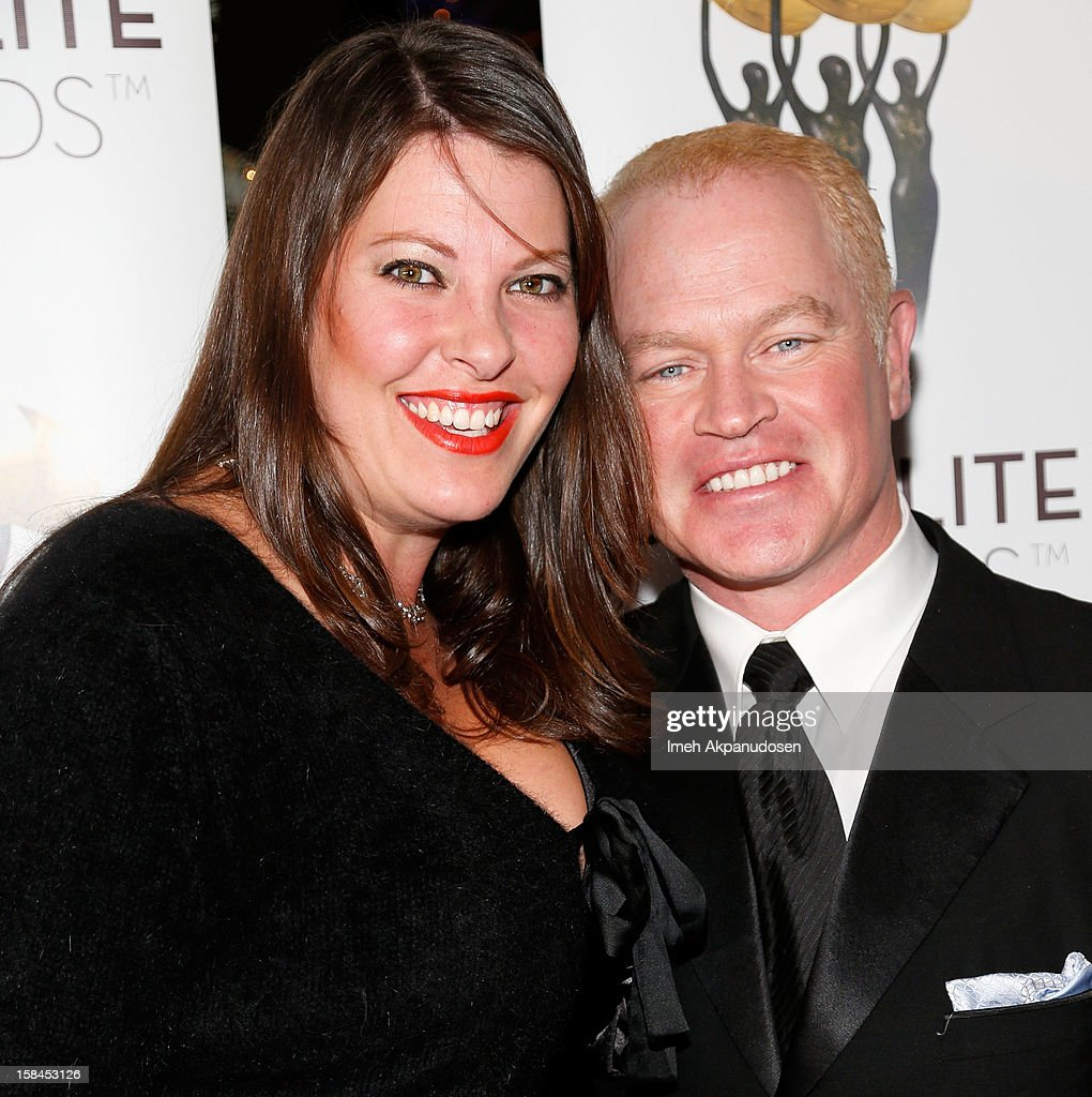 Ruve McDonough (L) and actor <a gi-track='captionPersonalityLinkClicked' href=/galleries/search?phrase=Neal+McDonough&family=editorial&specificpeople=213199 ng-click='$event.stopPropagation()'>Neal McDonough</a> attend International Press Academy's 17th Annual Satellite Awards at InterContinental Hotel on December 16, 2012 in Century City, California.