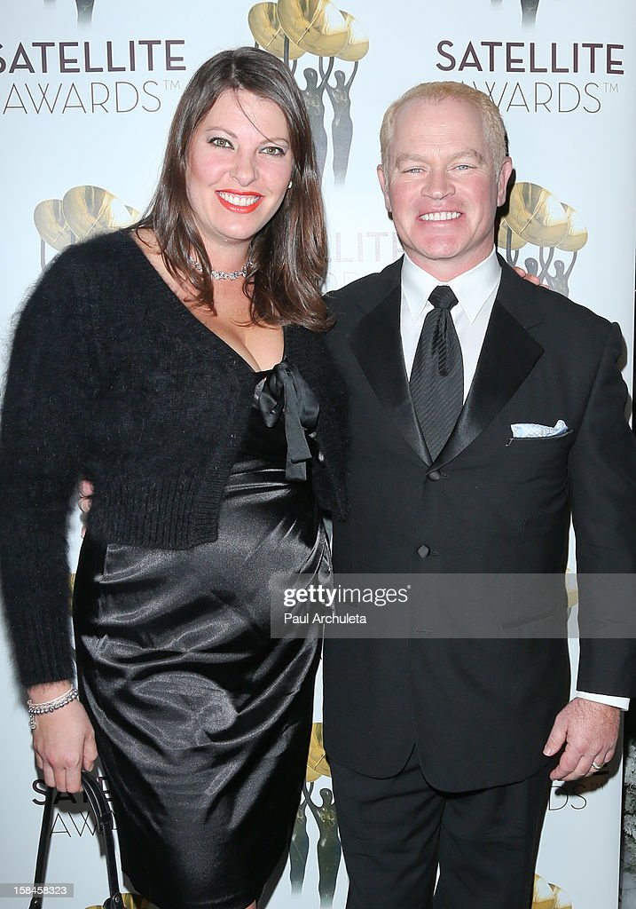 Ruve McDonough (L) and Actor Neal McDonough (R) attends the International Press Academy's 17th Annual Satellite Awards at InterContinental Hotel on December 16, 2012 in Century City, California.