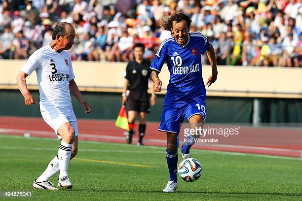Ruy Ramos in action the Sayonara National Stadium event at National Stadium on May 31 2014 in Tokyo Japan The National Stadium in Tokyo originally...