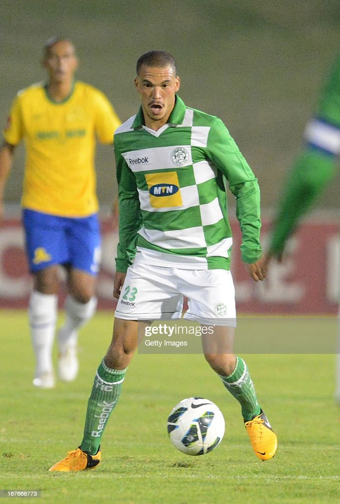 Ruzaigh Gamildien of Celtic during the Absa Premiership match between Mamelodi Sundowns and Bloemfontein Celtic at Pilditch Stadium on April 27, 2013 in Pretoria, South Africa.