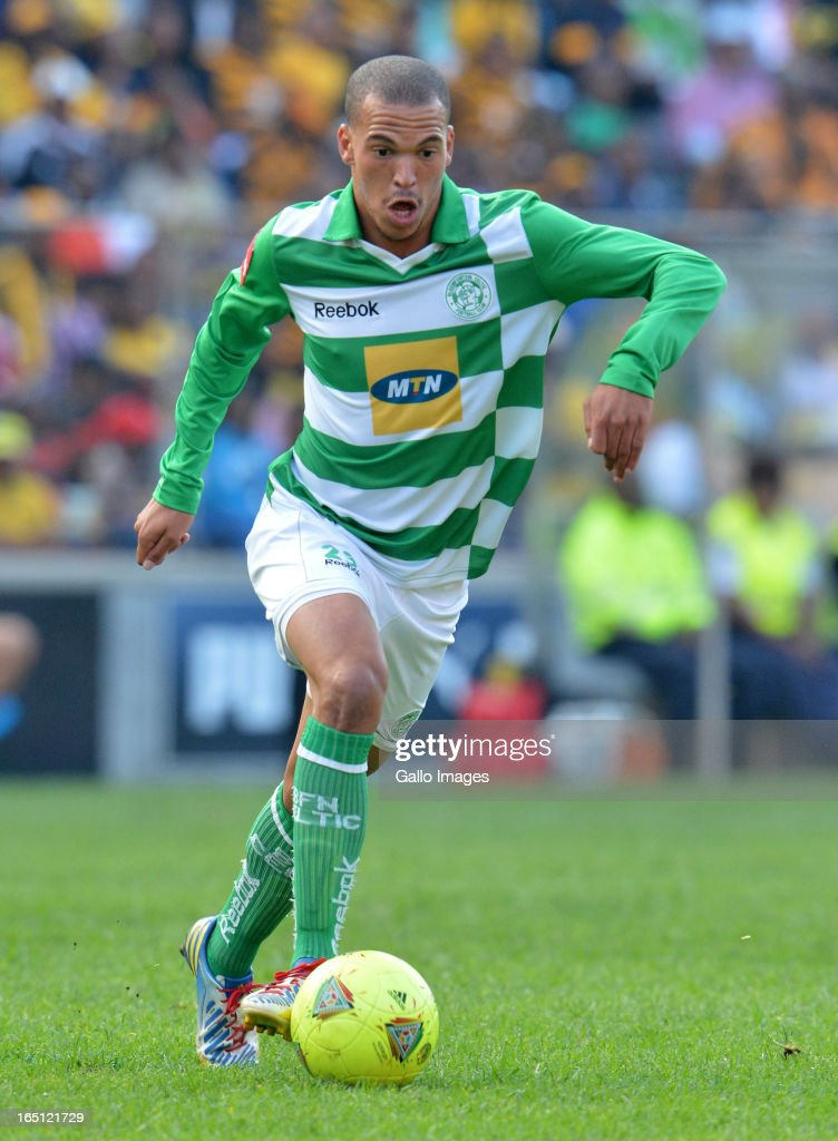 Ruzich Gamildien during the Absa Premiership match between Bloemfontein Celtic and Kaizer Chiefs at FNB Stadium on March 31, 2013 in Johannesburg, South Africa. .