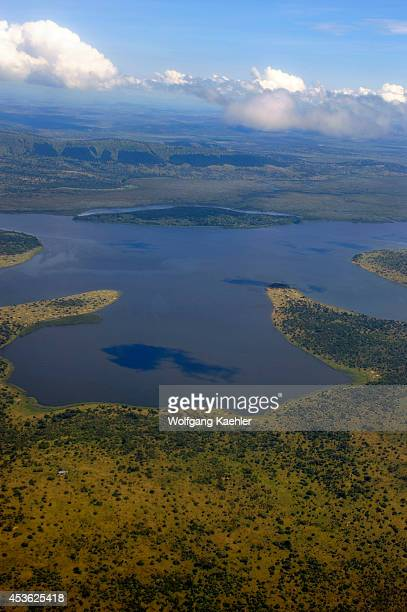 Rwanda Aerial View Of Akagera National Park