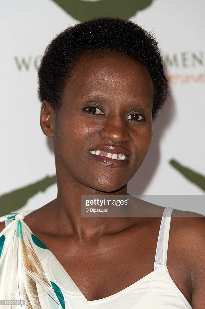Rwandan Women for Women International graduate Francoise Tumukunde attends the 2012 Women For Women International gala at Koch Theater, Lincoln Center on November 8, 2012 in New York City.