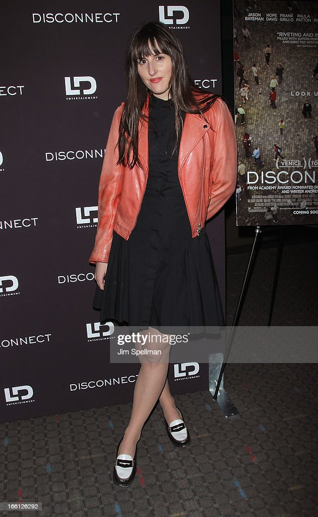 Ry Russo -Young attends 'Disconnect' New York Special Screening at SVA Theater on April 8, 2013 in New York City.