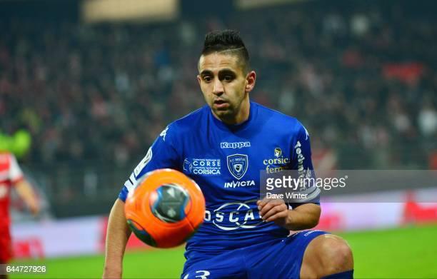 Ryad BOUDEBOUZ Valenciennes / Bastia 20e journee Ligue 1 Photo Dave Winter / Icon Sport