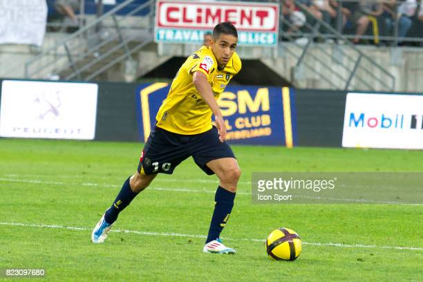 Ryad BOUDEBOUZ Sochaux / Monaco 35e journee Ligue 1