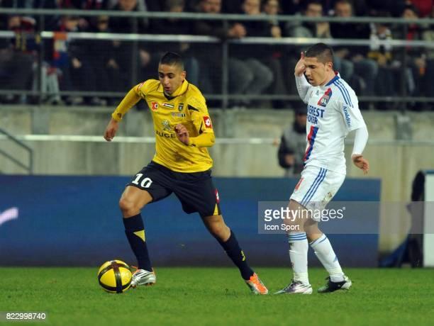 Ryad BOUDEBOUZ Sochaux / Lyon 27e journee Ligue 1