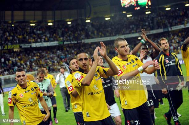 Ryad BOUDEBOUZ Sochaux / Saint Etienne 37eme journee de Ligue 1