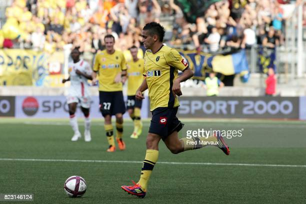 Ryad BOUDEBOUZ Nancy / Sochaux 3e journee de Ligue 1