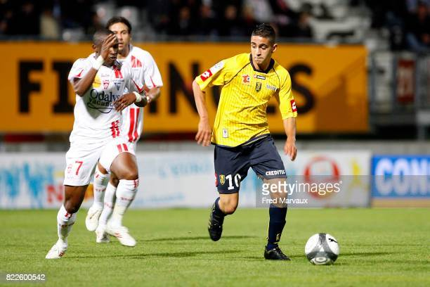 Ryad BOUDEBOUZ Nancy / Sochaux 7eme journee de Ligue 1