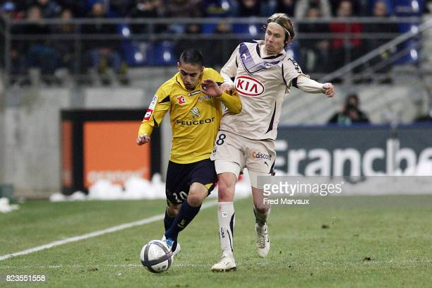 Ryad BOUDEBOUZ / Jaroslav PLASIL Sochaux / Bordeaux 18eme journee de Ligue 1