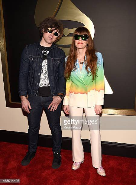 Ryan Adams and Jenny Lewis attend The 57th Annual GRAMMY Awards at the STAPLES Center on February 8 2015 in Los Angeles California