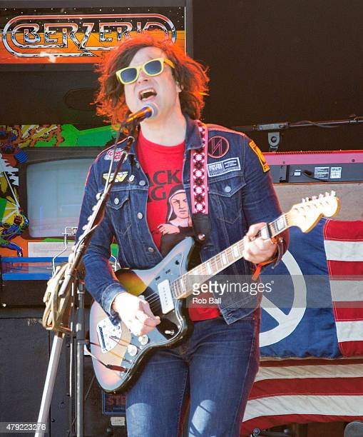 Ryan Adams performs at Roskilde Festival on July 2 2015 in Roskilde Denmark
