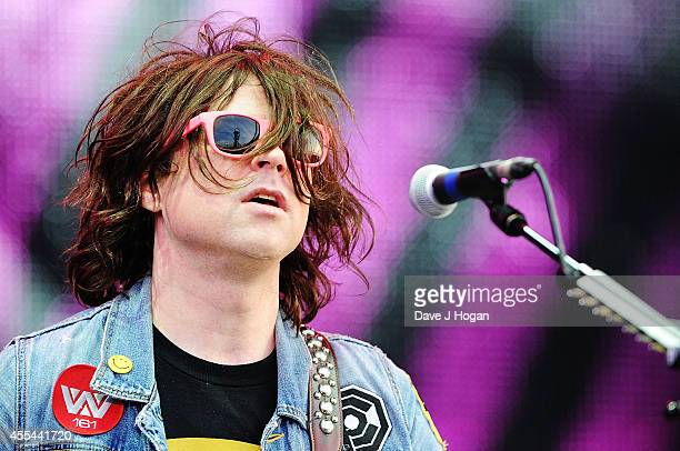 Ryan Adams performs live at The Jaguar Land Rover Invictus Games Closing Concert at Olympic Park on September 14 2014 in London England