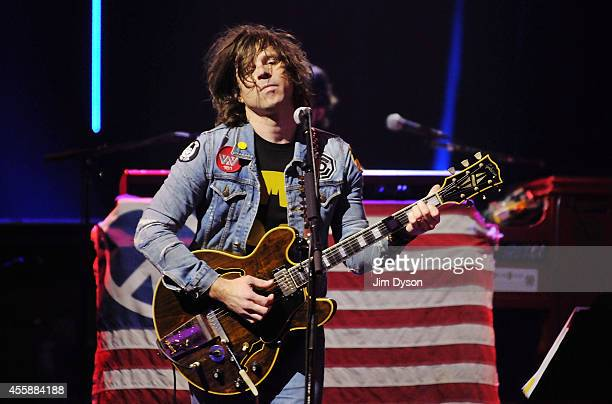 Ryan Adams performs live on stage as part of the iTunes Festival at The Roundhouse on September 21 2014 in London England