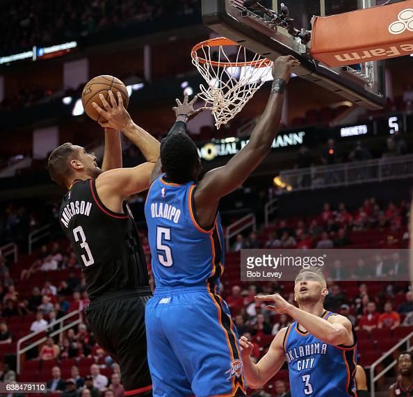 Houston Rockets Vs Oklahoma City Thunder: Rockets Thunder Stock Photos And Pictures