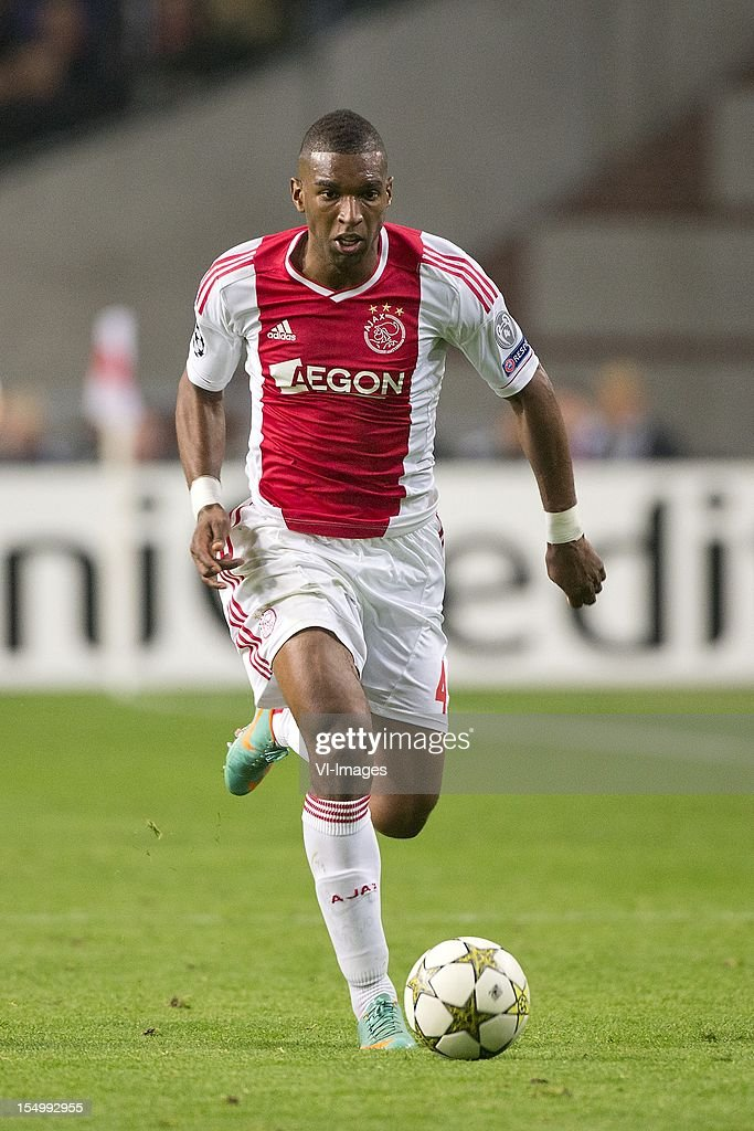 Ryan Babel of Ajax during the Champions League match between Ajax Amsterdam and Manchester City at the Amsterdam Arena on October 24, 2012 in Amsterdam, The Netherlands.