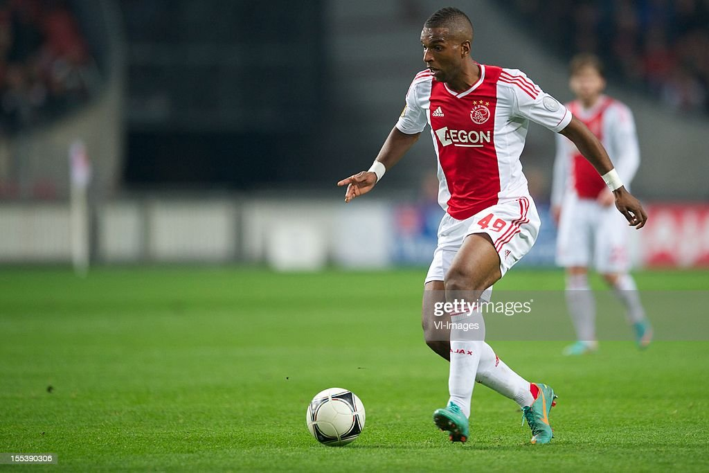 Ryan Babel of Ajax during the Dutch Eredivisie match between Ajax Amsterdam and Vitesse Arnhem at the Amsterdam Arena on November 3, 2012 in Amsterdam, The Netherlands.