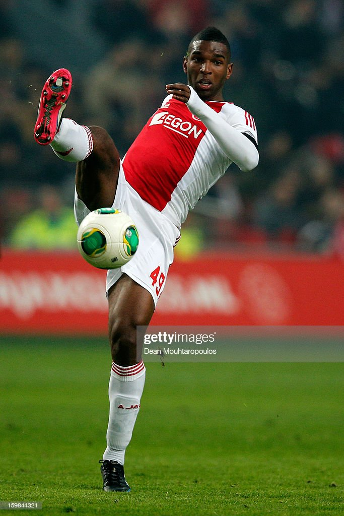 Ryan Babel of Ajax in action during the Eredivisie match between Ajax Amsterdam and Feyenoord Rotterdam at Amsterdam Arena on January 20, 2013 in Amsterdam, Netherlands.