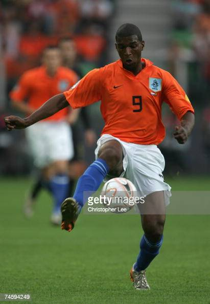 Ryan Babel of Holland in action during the UEFA U21 Championship Group A match between Netherlands U21 and Portugal U21 at the Euroborg Stadium on...