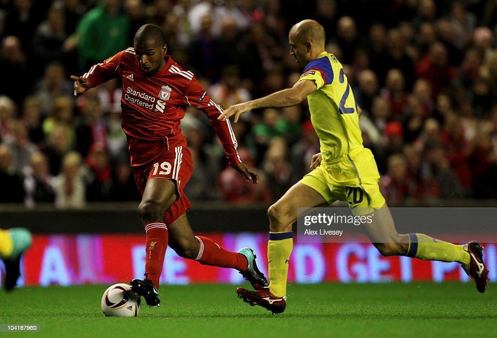 Liverpool v Steau Bucharest - UEFA Europa League