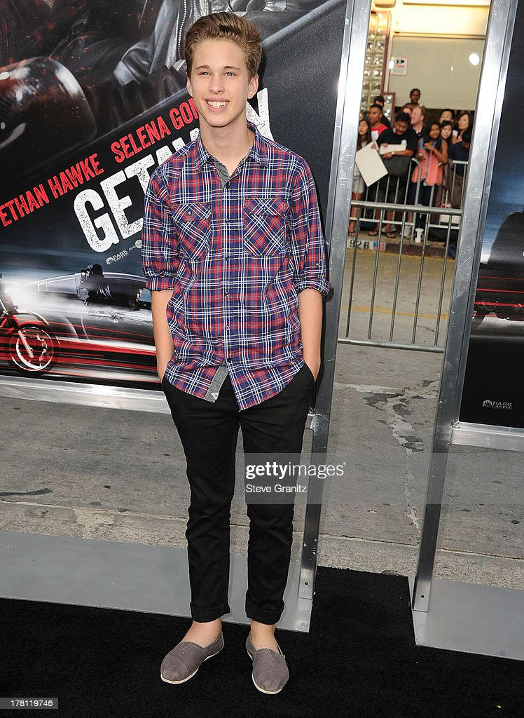 Ryan Beatty arrives at the 'Getaway' - Los Angeles Premiere at Regency Village Theatre on August 26, 2013 in Westwood, California.