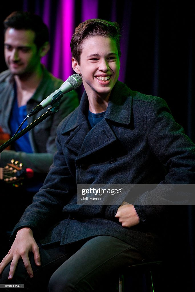 Ryan Beatty performs at the Q102 iHeart Performance Theater on January 18, 2013 in Bala Cynwyd, Pennsylvania.