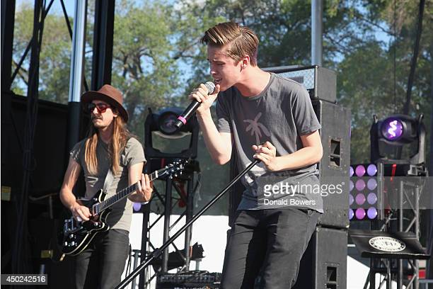 Ryan Beatty performs onstage at DigiTour Media Presents DigiFest NYC at Citi Field on June 7 2014 in New York City